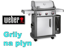 Grily Weber na plyn