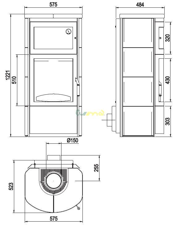 hark roma gt eco plus mastenec 7kw teplovzdu n krbov. Black Bedroom Furniture Sets. Home Design Ideas